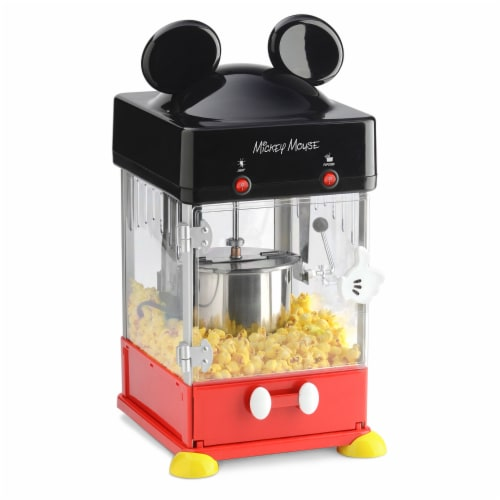 Select Brands Disney Mickey Mouse Kettle Style Popcorn Popper Perspective: front