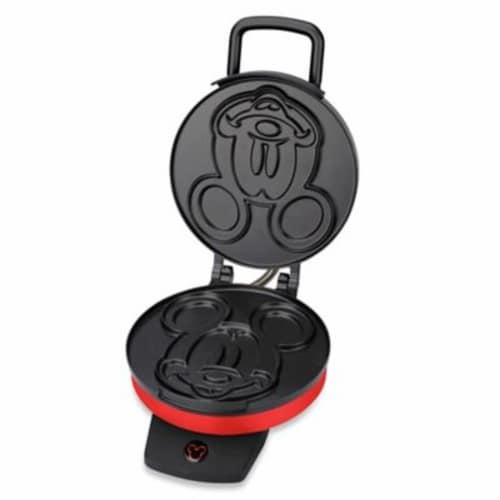 Select Brands Disney Mickey Mouse Waffle Maker Perspective: front