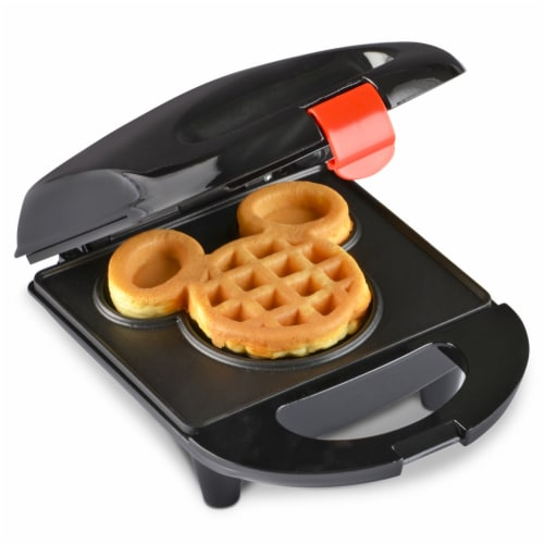 Select Brands Disney Mickey Mouse Mini Waffle Maker Perspective: front