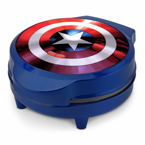 Marvel Captain America Waffle Maker Perspective: front