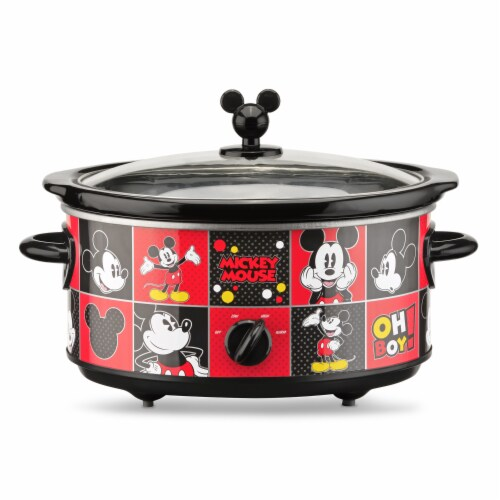 Disney Mickey Mouse 5-Quart Slow Cooker Perspective: front