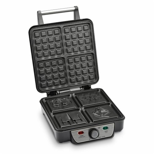 Select Brands Star Wars Four Waffle Maker Perspective: front