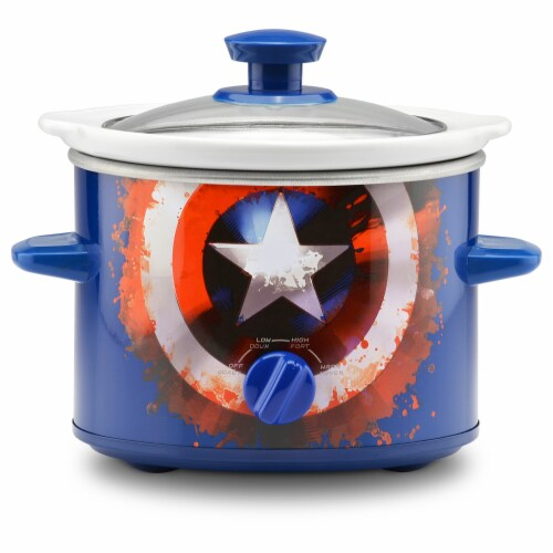 Marvel Captain America Slow Cooker Perspective: front