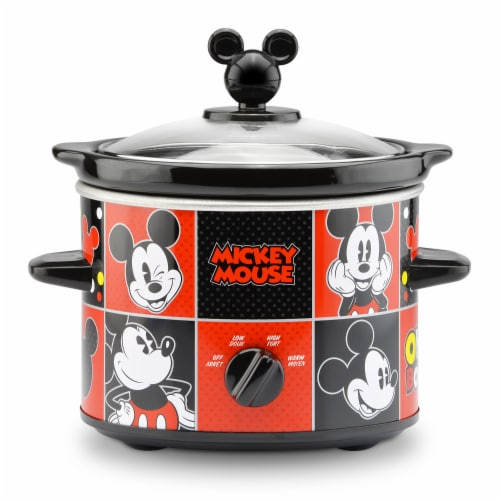 Select Brands Disney Mickey Mouse 2-Quart Slow Cooker Perspective: front