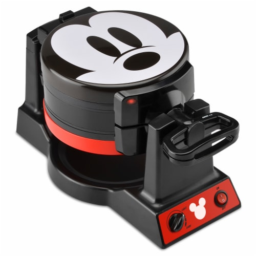 Select Brands Disney Mickey Mouse Double Flip Waffle Maker Perspective: front