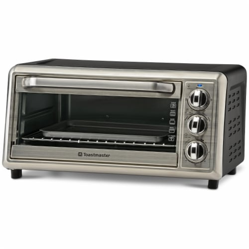 Select Brands Toastmaster Toaster Oven - Silver Perspective: front