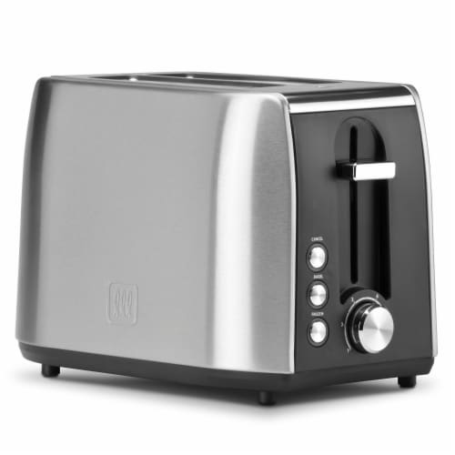 Select Brands Toastmaster 2-Slice Fast Toaster - Silver Perspective: front