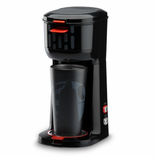 Select Brands Star Wars Dual Brew Coffee Maker with Travel Mug Perspective: front