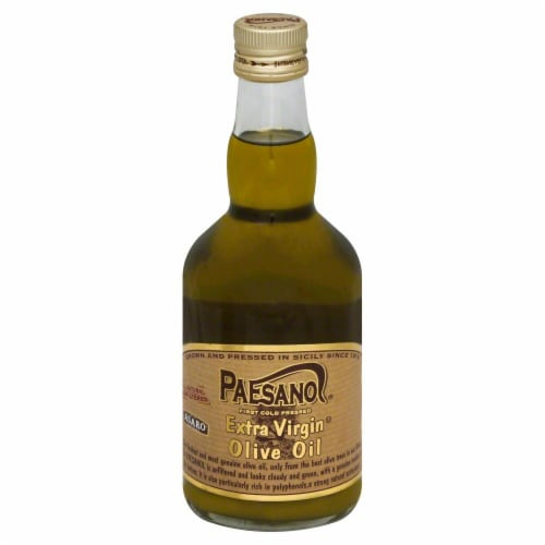 Paesano Extra Virgin Olive Oil Perspective: front