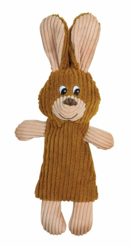 SmartPetLove Tender-Tuff Whisper Rabbit Bottle Dog Toy Perspective: front