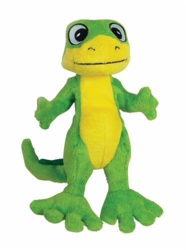 SmartPetLove Tender-Tuff Standing Gecko Dog Toy Perspective: front