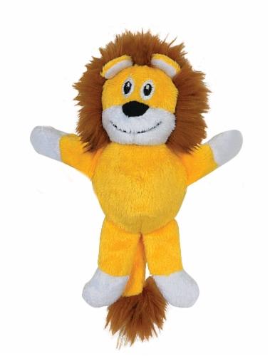 SmartPetLove Tender-Tuff Tiny Lion Dog Toy Perspective: front