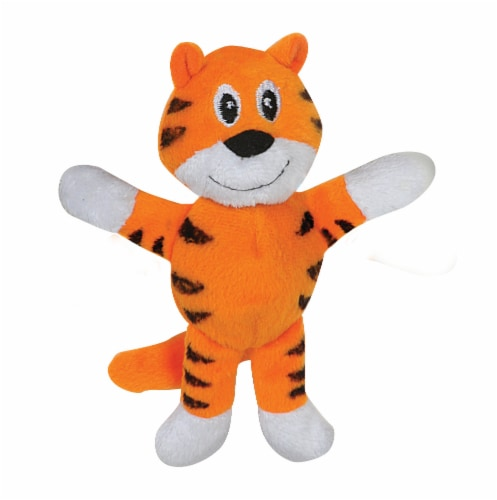 SmartPetLove Tender-Tuff Tiny Tiger Dog Toy Perspective: front