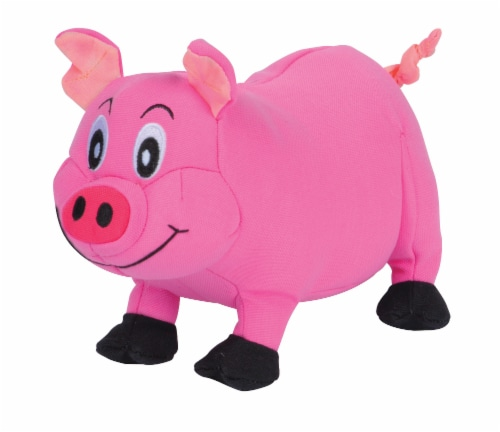 SmartPetLove Tender-Tuff Plump Pink Pig Dog Toy Perspective: front
