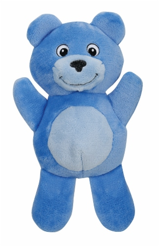 SmartPetLove Tender-Tuff Comfort Blue Bear Dog Toy Perspective: front
