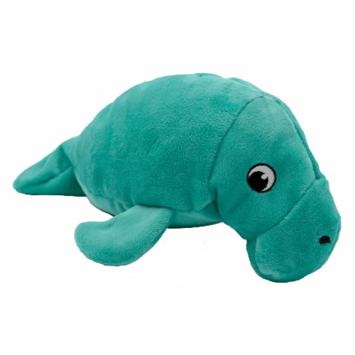 SmartPetLove Tender-Tuff Manatee Dog Toy Perspective: front