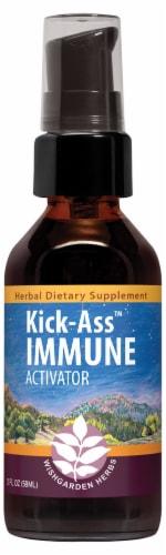 WishGarden Herbs Kick-Ass Immune Activator Perspective: front