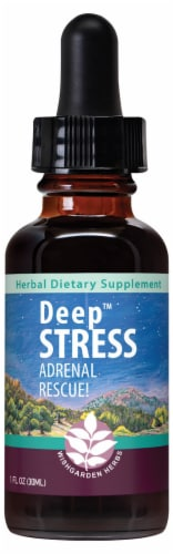 WishGarden Deep Stress Daily Rescue Dropper Perspective: front