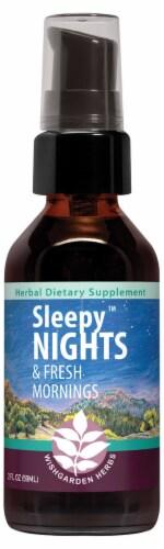 WishGarden Sleepy Nights Supplement Spray Perspective: front
