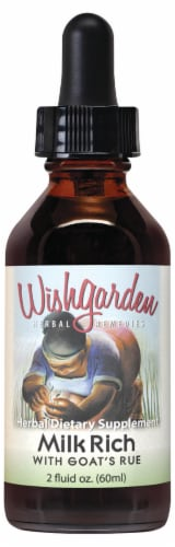 WishGarden Herbs Milk Rich with Goat's Rue Enrichment Lactation Aid Perspective: front