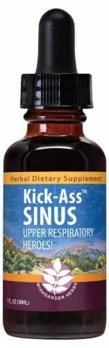WishGarden Herbs Kick-Ass Sinus Dropper Perspective: front