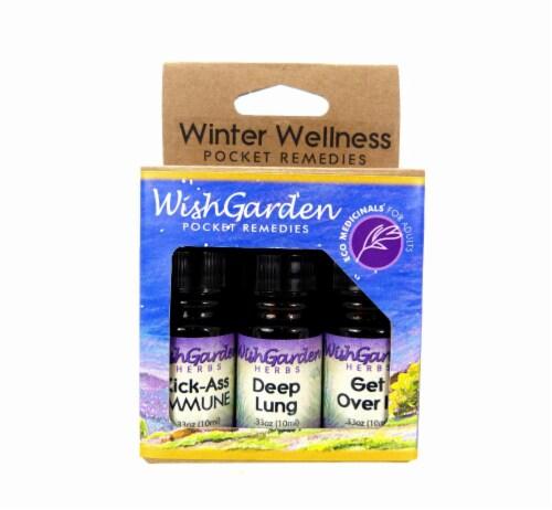 WishGarden Herbs Winter Wellness Pocket Remedies Perspective: front