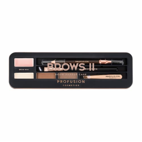 Profusion Cosmetics Brows II Brow Makeup Case Perspective: front