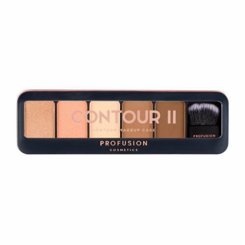 Profusion Cosmetics Contour II Contour Makeup Case Perspective: front