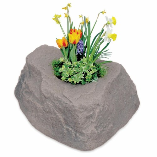 DekoRRa 132-RB Rock Planter Perspective: front