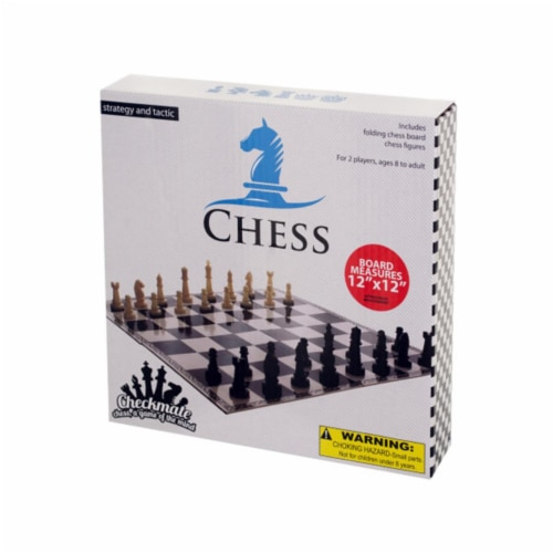 Bulk Buys OC868-40 Folding Chess Game Perspective: front