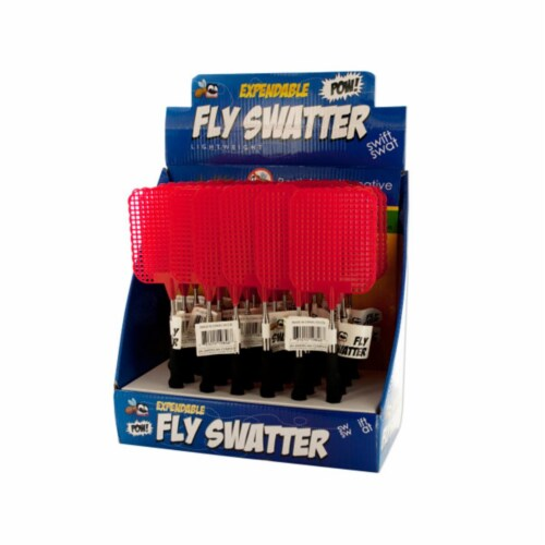 Bulk Buys OC578-24 Extendable Fly Swatter Countertop Display -Pack of 24 Perspective: front
