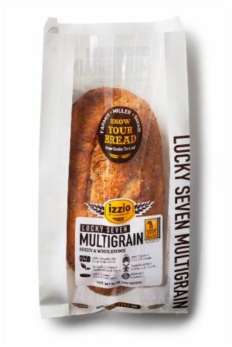 Izzio Lucky 7 Grain Bread Perspective: front