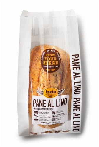 Izzio Pane Al Lino Bread Perspective: front