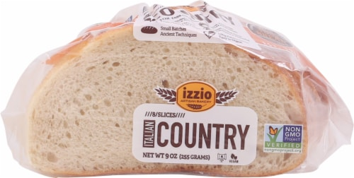 Izzio Italian Country Bread 8 Count Perspective: front