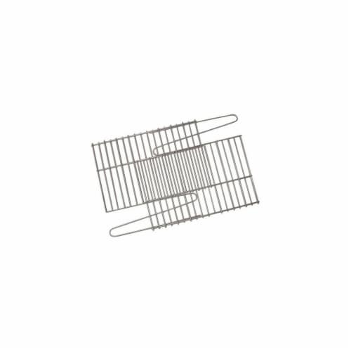 91250A Universal Fit Lava Rock Grate Perspective: front