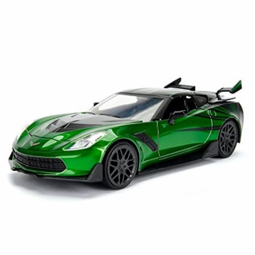 Crosshairs - 2016 Chevrolet Corvette Model Car Perspective: front