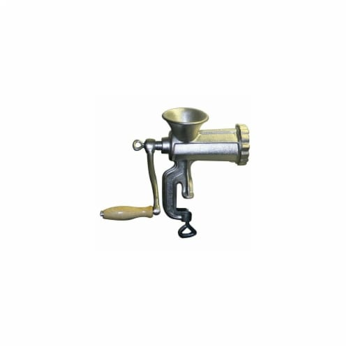 #10 Cast Iron Meat Grinder Perspective: front