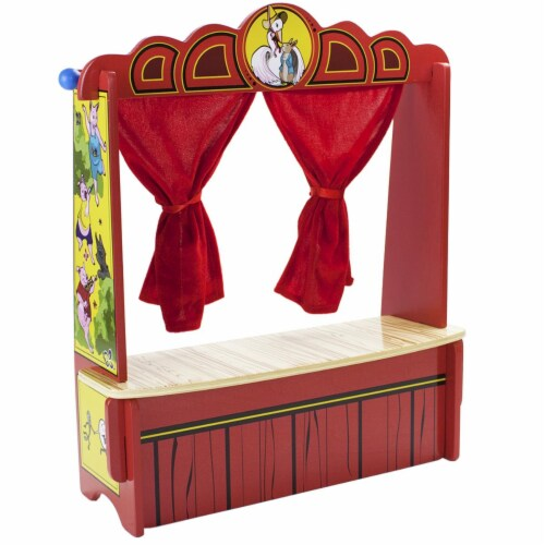 Mother Gooses Tabletop Puppet Theater Perspective: front