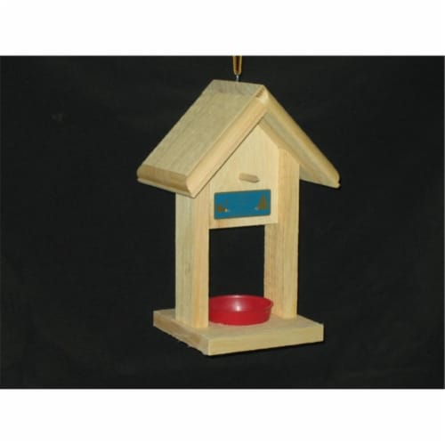 12 '' Jelly Bird Feeder - White Pine Perspective: front