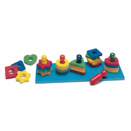 Shape & Color Sorter-Ages 2-6 Perspective: front