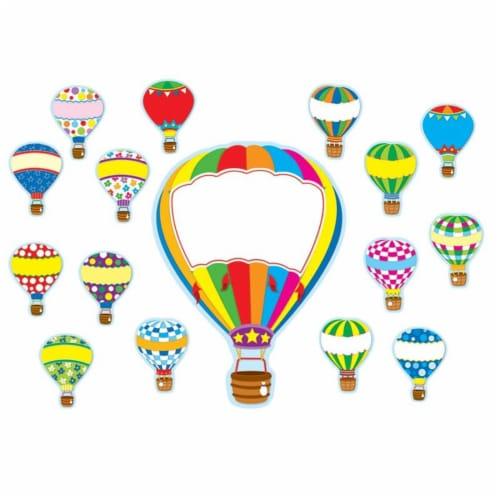 Hot Air Balloons Bulletin Board Set Perspective: front
