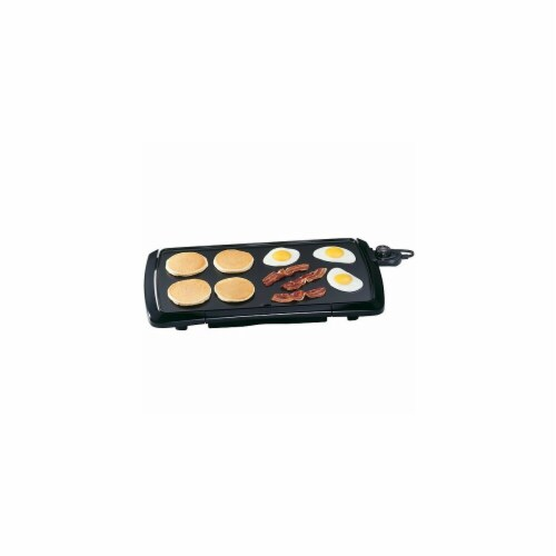 20'' Electric Cool Touch Griddle - Black Perspective: front