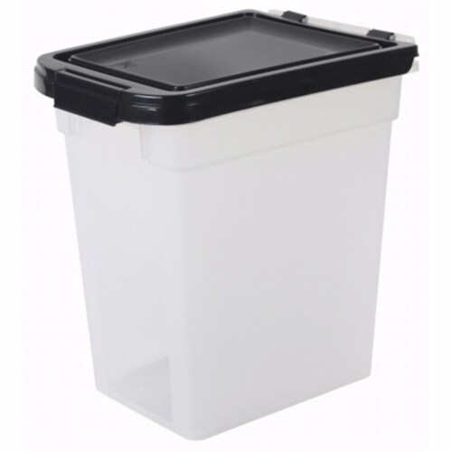 Airtight Pet Food Storage Container, 1.15 Perspective: front