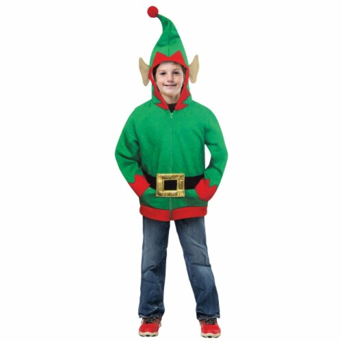 Child Hoodie ELF, 7-10 Perspective: front