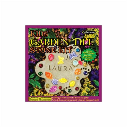 Kids Garden Tile Stone Kit Perspective: front