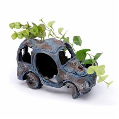 Sunken Gardens Car Wreck Large Perspective: front
