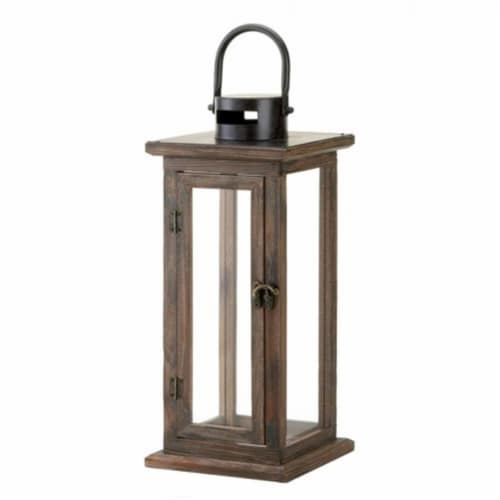 Perfect Lodge Wooden Lantern Perspective: front