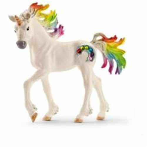Rainbow Unicorn Foal Perspective: front