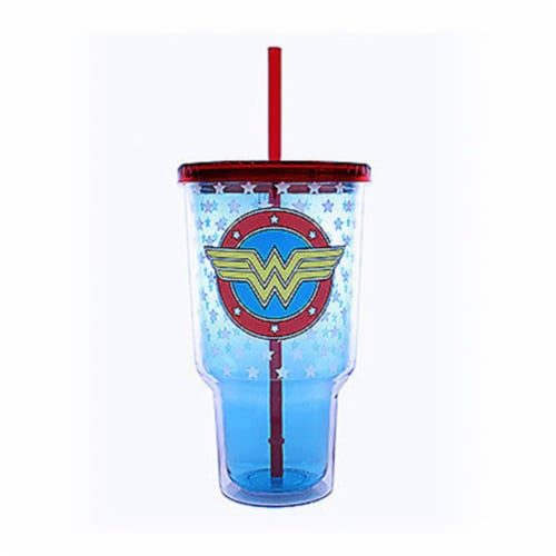 32 oz Wonder Woman Cup Perspective: front
