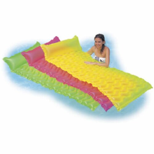 58807EP Tote-N-Float Wave Mat Perspective: front